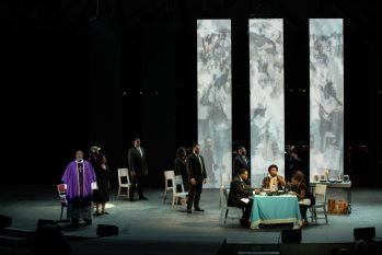 Michigan Opera Theatre's production of 'Blue' at Aretha Franklin Amphitheater in Detroit. Photo by Mitty Carter.