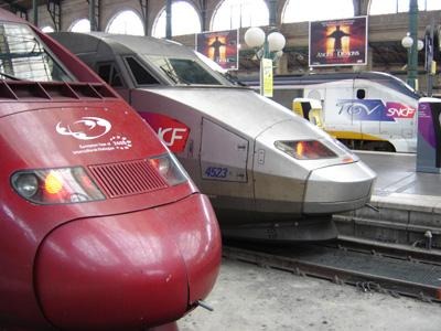 Paris Nord -rautatieasemalla