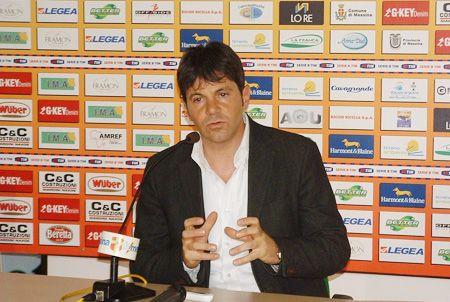 Calcio Messina. Esonerato Grassadonia al suo posto Di Costanzo