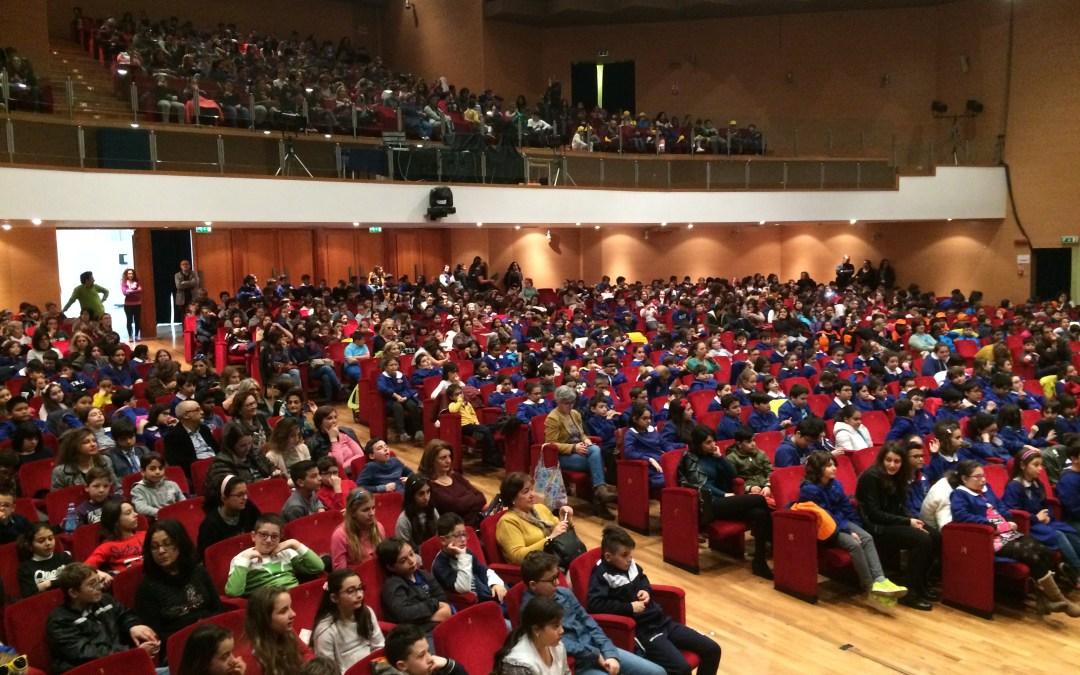 Messina. Luigi Dal Cin mattatore di fronte a 900 scolari