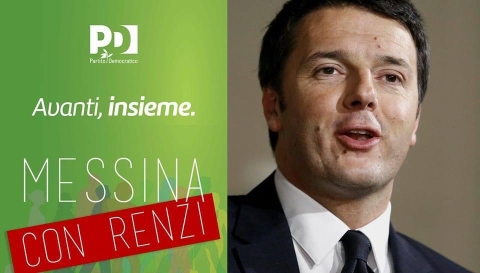 """Prosegue l'attività di informazione del """"Comitato pro Renzi"""" di Messina"""