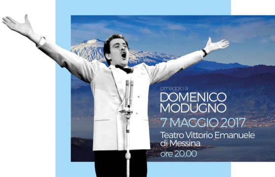 Teatro Vittorio Emanuele di Messina, domenica l'omaggio a Domenico Modugno