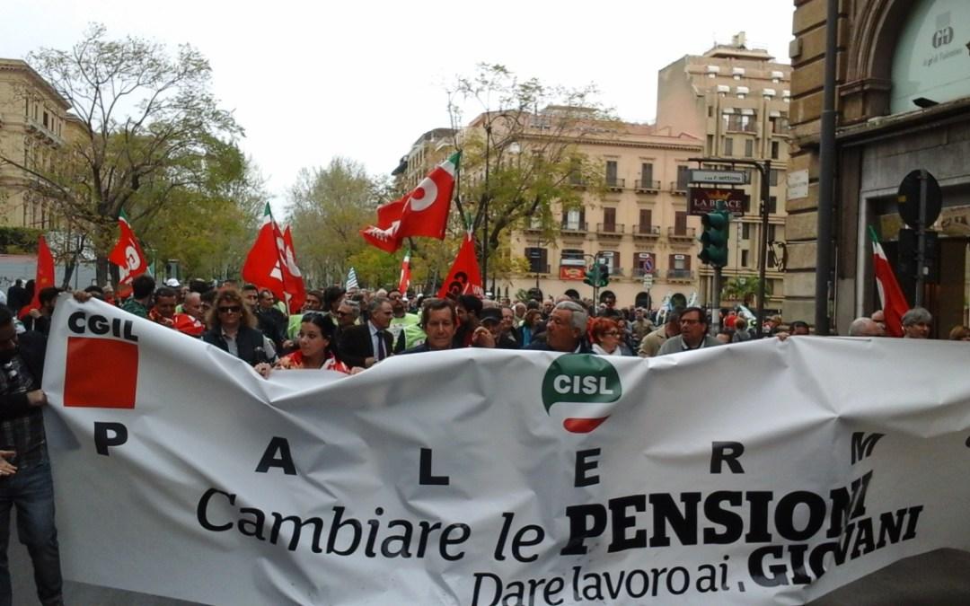 Sindacati Pensionati, protesta venerdì in Prefettura contro tagli governo