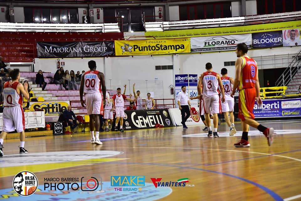 "Basket. Orsa Barcellona vince al 'cardiopalma' su Virtus Ragusa: ""Compiuta 'Impresa' su team più forte del girone"""