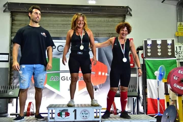 Barcellona PG. Cristina Catalfamo Campionessa Italiana Powerlifting  in Stacco da Terra WPC