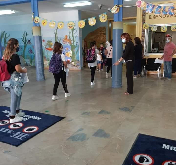 #Editoriale. Barcellona PG. Il primo giorno di scuola ai tempi del Coronavirus