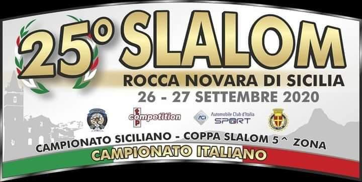 Il 25° Slalom Rocca Novara di Sicilia il 26 e 27 settembre