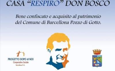 Barcellona PG. Verso l'apertura 'Casa Respiro Don Bosco', nuovo centro funzionale per l'autismo