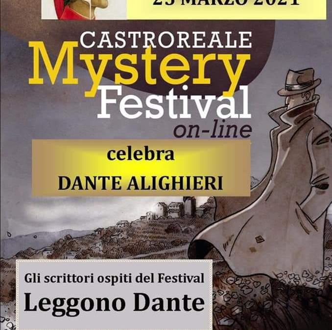 Il 'Castroreale Mystery Festival' celebra il 'Dantedì', quattro autori leggeranno il 'Sommo Poeta'