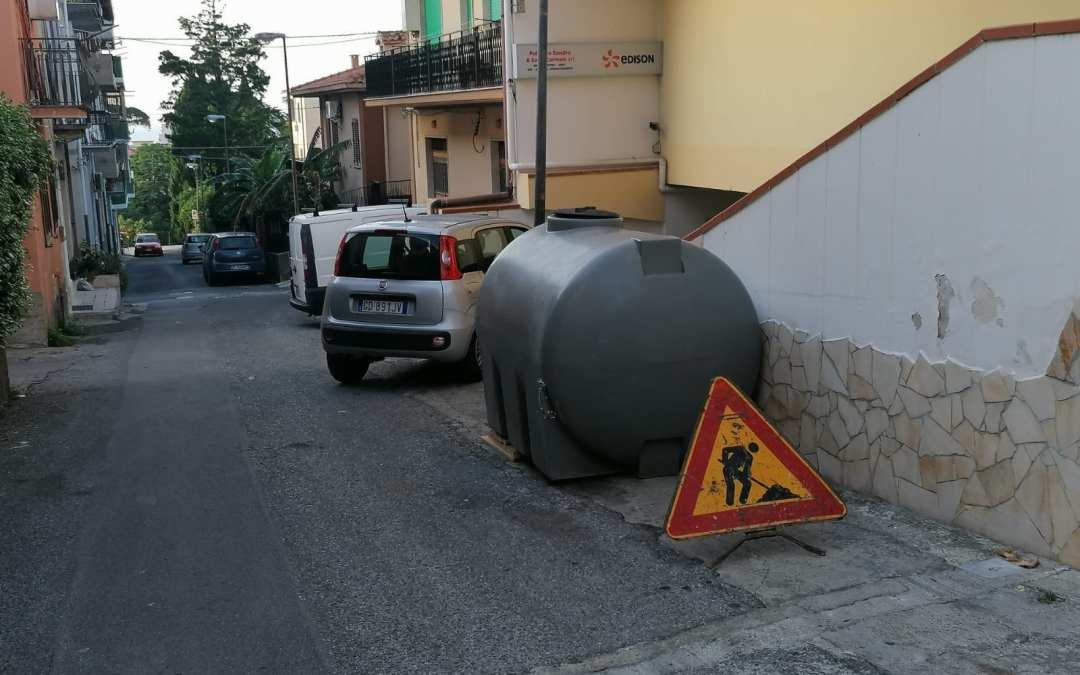 """Furnari. Crisi idrica, cittadini senz'acqua 'infuriati'. Crimi: """"Si lavora su ripristino pompe"""""""