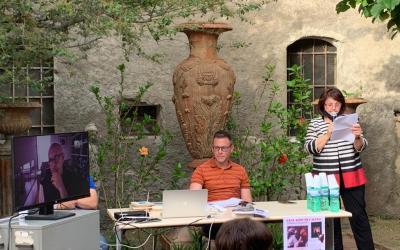 """Barcellona PG. La """"Genius Loci"""" omaggia Gesualdo Bufalino, prima tappa di """"A spasso con i libri"""" alla Biblioteca comunale """"Nannino Di Giovanni"""""""