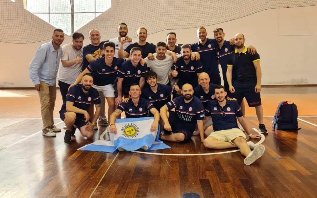 Barcellona PG. Calcio a 5, Mortellito nella storia.. vince la finale play-off è serie B