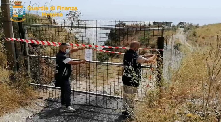 Sequestrate a Castelmola, due discariche abusive di rifiuti per oltre 12.000 mq: rifiuti speciali e materiale di risulta sversati sul terreno