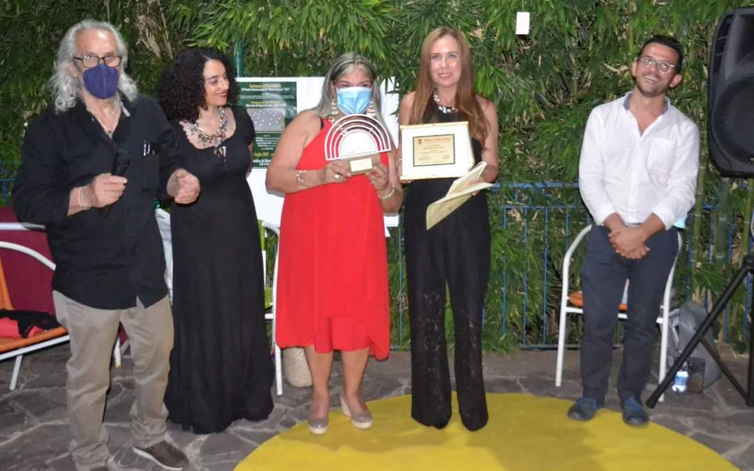 """Barcellona PG. Museo Epicentro. Myriam De Luca vince l'XI Premio di """"Poesia Circolare"""" 2021"""