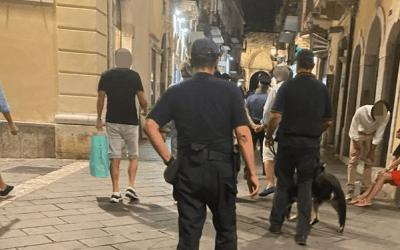 Taormina e Giardini Naxos. Controlli weekend, sei persone segnalate assuntori di droga e due locali chiusi per violazioni anti-covid