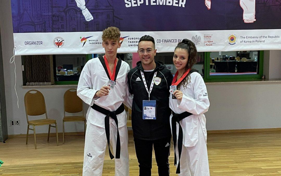 """Barcellona PG. Taekwondo, successo dell""""ASD Dream Team' al 'Polish Open 2021'"""