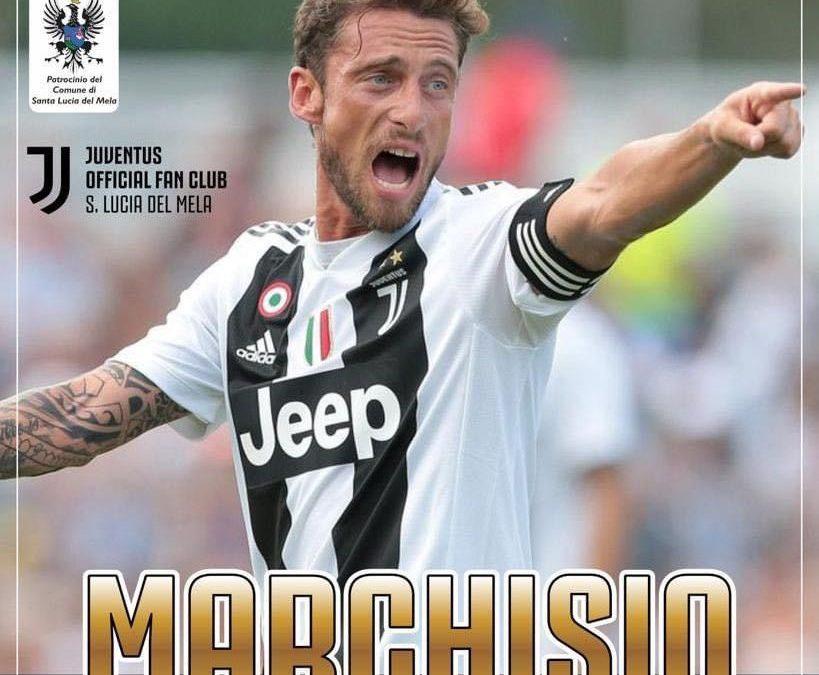 """S. Lucia del Mela. Il 'principino' Claudio Marchisio al Juventus Official Fan Club """"Gaetano Scirea"""""""