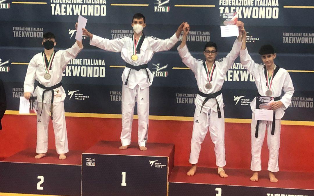 Barcellona PG. Taekwondo, bronzo per Simone Calabrese ai Campionati italiani juniores