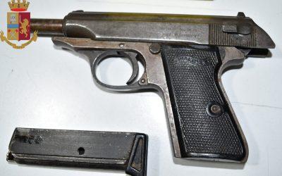 Messina. Arrestato 27enne per detenzione arma illegale e ricettazione