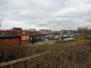Brighton and Hove Albion's Goldstone football ground
