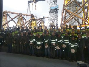 Navantia Delivers First East Anglia One Jackets - OrbisEnergy