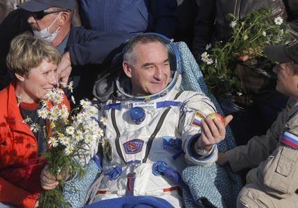 Cosmonaut Alexander Skvortsov