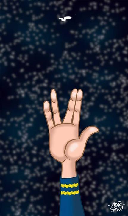 Spock por Adão Silva2