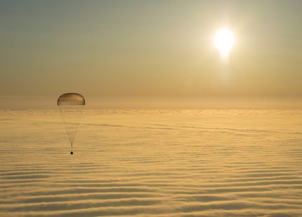 Expedition 42 Soyuz TMA-14M Landing