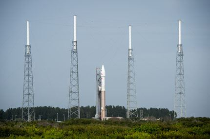 Atlas V MAVEN Roll Out