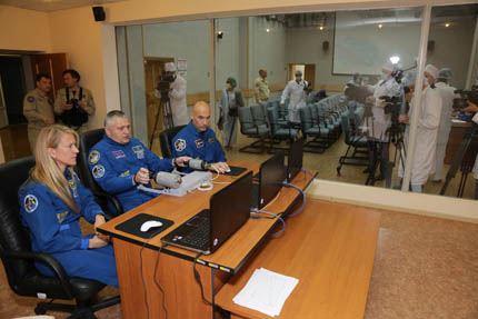 Soyuz TMA-09M treino acoplagem