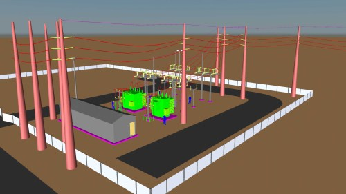 small resolution of double ended substation diagram