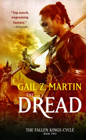 "Cover art for ""The Fallen Kings Cycle, book two: The Dread"" by Gail Z. Martin"