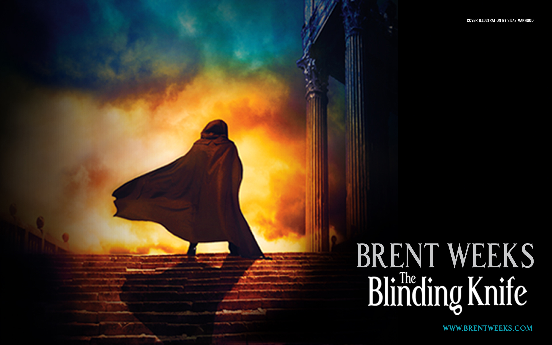 Wallpapers THE BLINDING KNIFE by Brent Weeks  Orbit Books