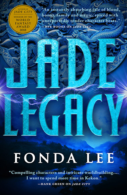 Book cover: Jade Legacy by Fonda Lee