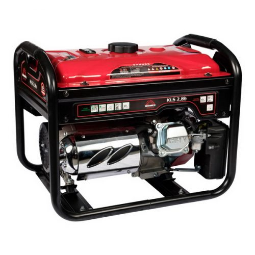 gasoline generator is ideal as a backup power source when it is rarely and briefly needed.