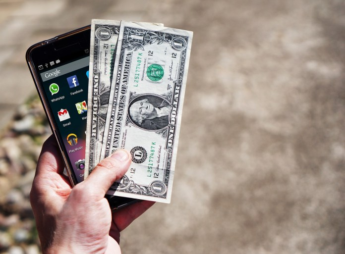 The Lightning Network, two dollars and a phone