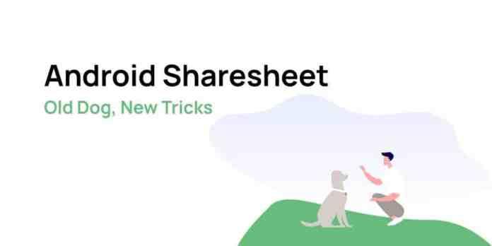 Android sharesheet
