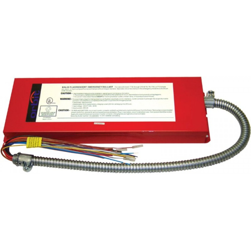medium resolution of bal3000 emergency ballasts exit emergency lighting 4 light ballast wiring diagram bal3000 em ballast wiring diagram