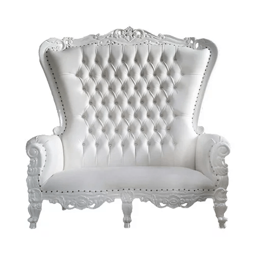 White Queen Love Seat