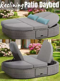 orbit double lounge vs other patio chairs