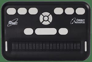 Orbit Reader 20 – Refreshable Braille Display – Orbit Research