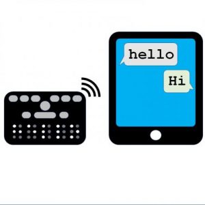 Orbit Chat – An app for face-to-face communication with people who are deafblind – Orbit Research