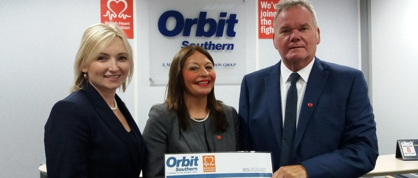 Orbit Southern Is Proud To Be Supporting The British Heart Foundation