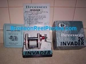 "Bronson ""Invader"" No.26 Reel"