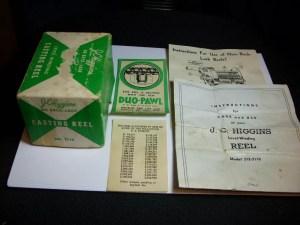 JC Higgins Reel No. 312.3110 Model 489 by Bronson D