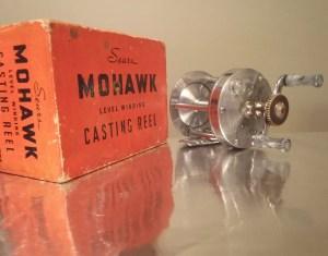 """Mohawk"" Reel No.312.3111 Interesting Non-Factory ""Modification"" B"