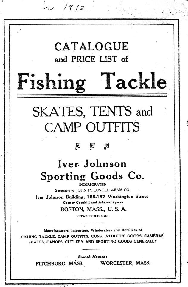 Iver Johnson Sporting Goods Co.