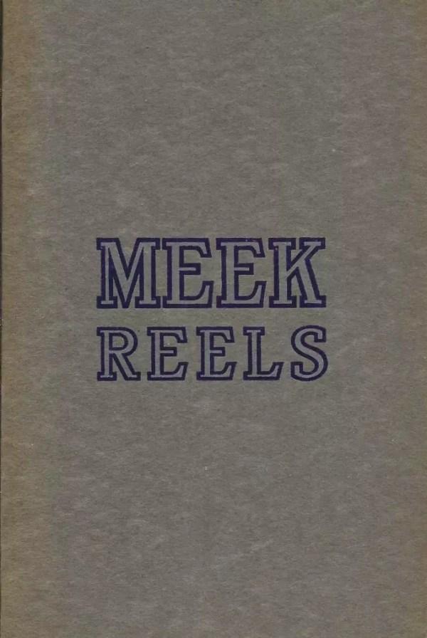 Meek 1913 Catalog Cover