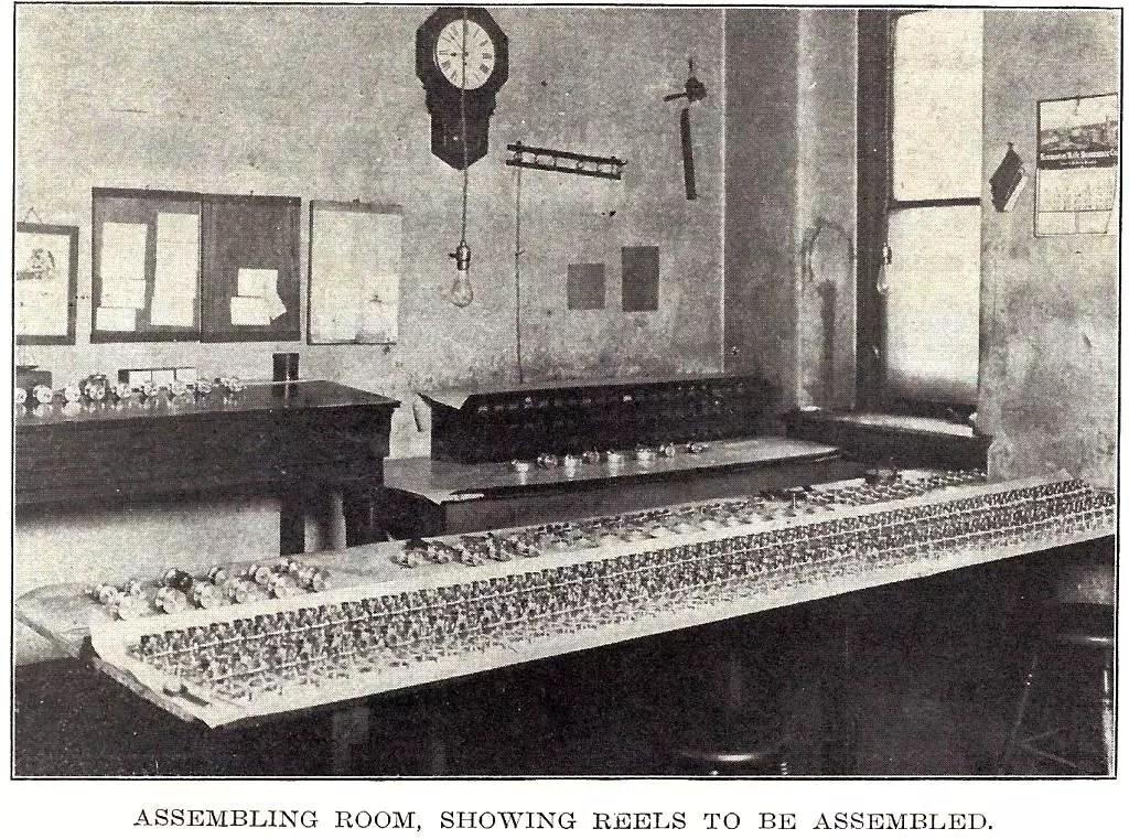 Meek Reels Photo in 1911 Article