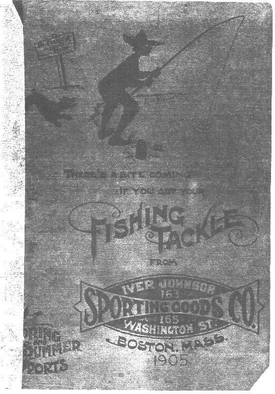Iver Johnson 1905 Catalog Cover
